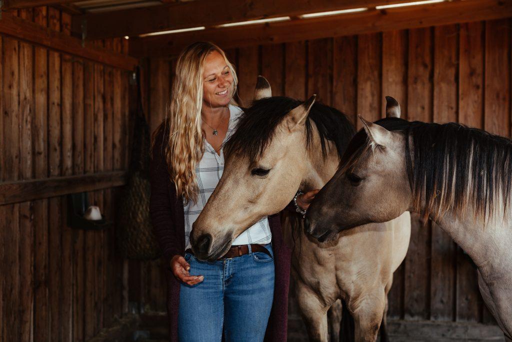 Dienstende der Pferdeflüsterin